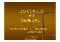Congés au Sénégal