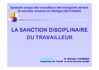 Sanction travailleur