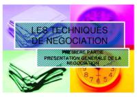 Techniques-negociation