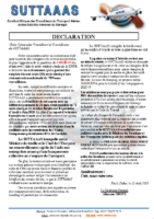 DECLARATION SUTTAAAS 12 AOUT 2020